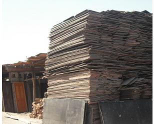 南京模板木料回收