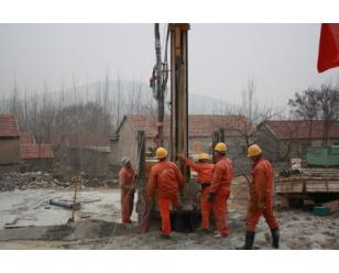 施工地源热泵井_合肥钻井公司
