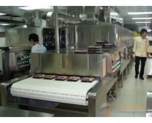 BY-40s快餐盒饭微波加热设备