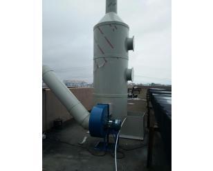 喷淋塔式废气处理