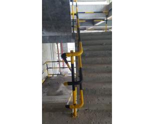 楼梯扶手防护