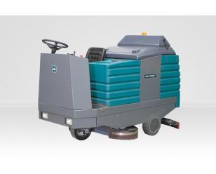 山西洗地机BA1250BT三刷驾驶式全自动洗地机吸干机