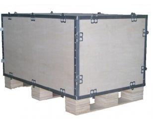合肥钢边箱生产,合肥冰明包装材料